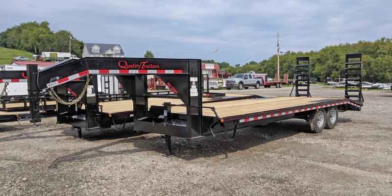 NEW 2019 Quality 23+5 HD PRO Deckover Gooseneck w/ Pop Up Dovetail in Ashburn, VA