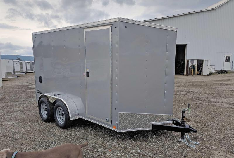 NEW 2019 Cargo Express 7X14 EX DLX V-Nose Cargo w/ Barn Doors