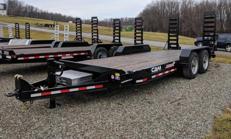 NEW 2018 CAM 18' HD Channel Equipment Hauler