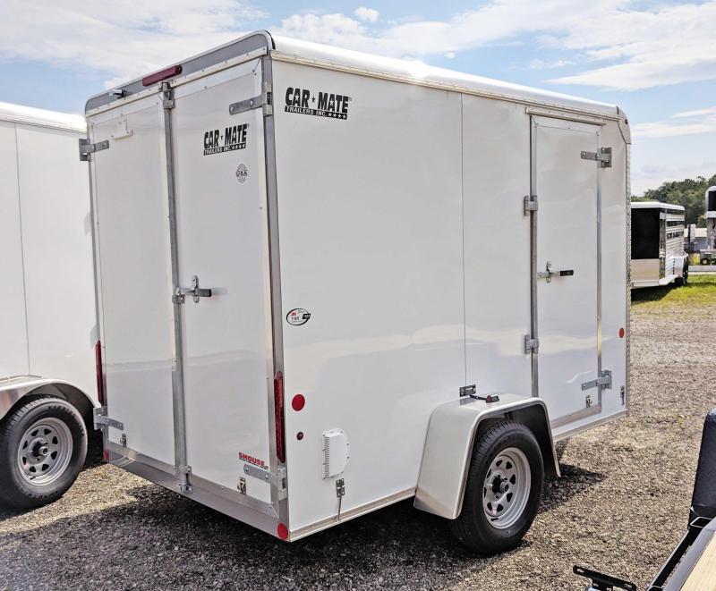 NEW 2019 Car Mate 6X10 Custom Cargo Enclosed Trailer w/ Barn Doors