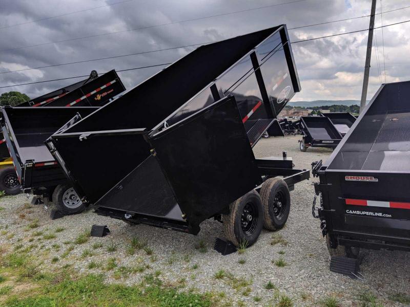 "NEW 2019 Bri-Mar 6x12 Lo Pro Equipment Dump w/ 44"" High Sides"