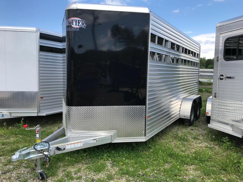 "NEW 2018 Frontier COLT LS Series 15'5"" (3) Horse Slant/Combo w/ Front Tack"
