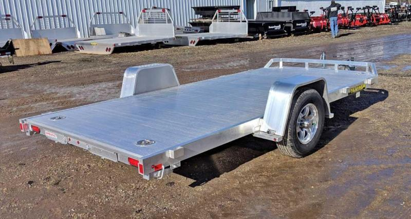 "NEW 2020 Aluma 6'10"" x 14 Heavy Single Axle Utility w/ Underbody Ramps and Brakes"