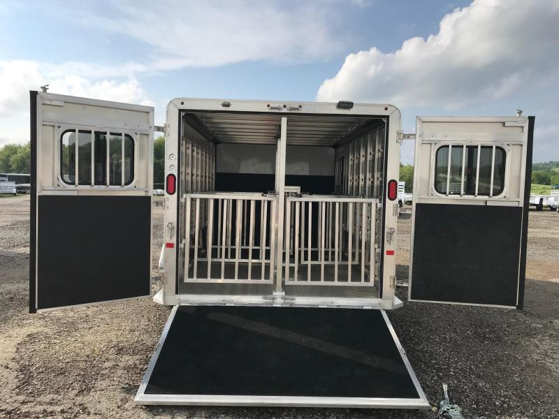 2018 Frontier ALUMINUM (5) Pen Small Livestock Trailer in Ashburn, VA