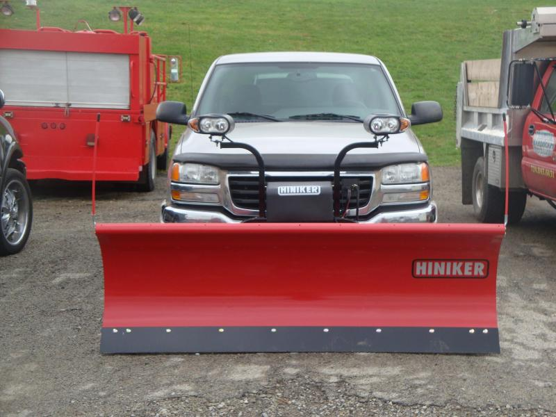 NEW Hiniker 8' HD Full Trip Conventional Steel Snow Plow- 1 LEFT IN STOCK