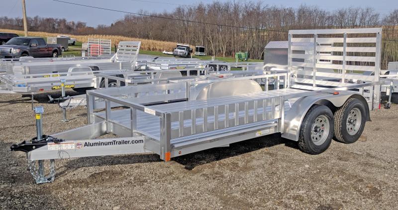 NEW 2018 ATC 7x14 Utility w/ Side Ramps & Rear Gate