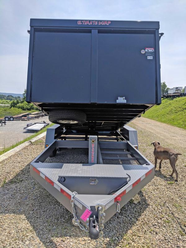 "NEW 2018 B-Wise 6'10"" x 16 HD "" ULTIMATE"" Dump Trailer"