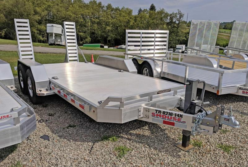 NEW 2018 Aluma 16' HD Lo Pro Equipment Trailer