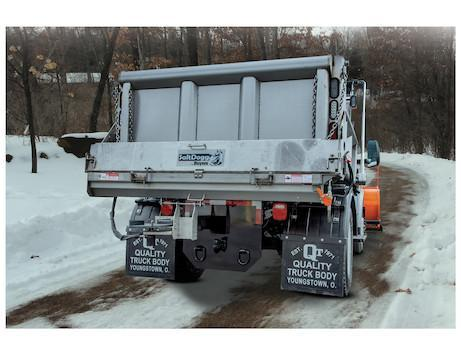 """NEW Saltdogg 96"""" Electric Under Tailgate Stainless Steel Spreader - Center Discharge"""