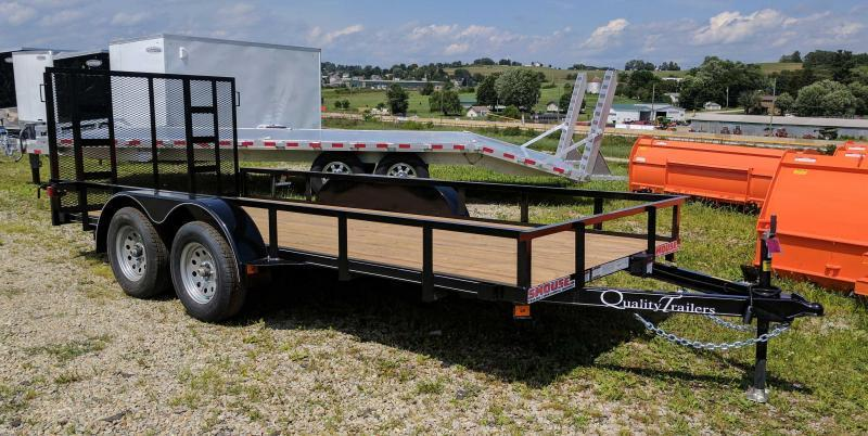 NEW 2020 Quality 6x18 Econo Utility Trailer w/ No Dove