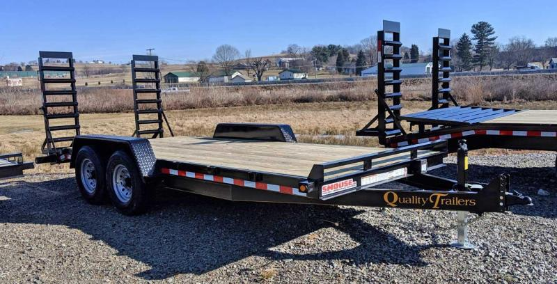 NEW 2019 Quality 16' HD General Duty Equipment Trailer (No Dove)