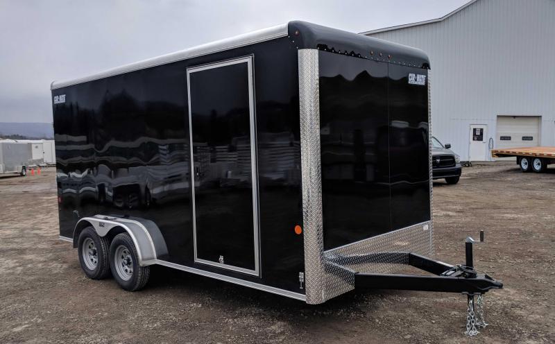 "NEW 2018 Car Mate 7X16 HD Custom Cargo Trailer w/ Ramp & Additional 12"" Height"