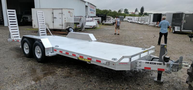 NEW 2019 Aluma 18' HD Lo Pro Equipment Trailer
