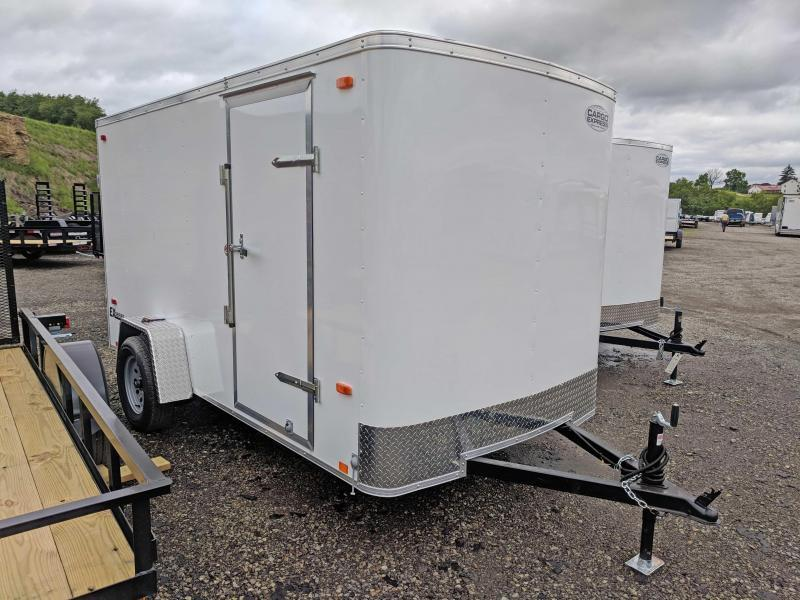 NEW 2019 Cargo Express 6x12 EX Enclosed Cargo Trailer w/ Ramp Door