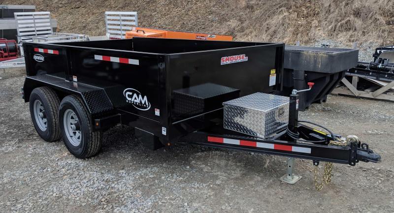 """NEW 2020 CAM """"Advantage"""" 6x10 Lo Profile Dump Trailer"""