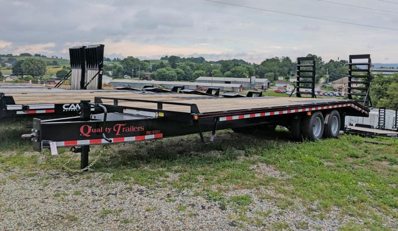 NEW 2020 Quality 20+5 HD Deckover Tagalong w/ Spring Assist Ramps