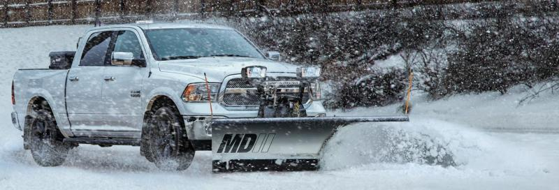 "NEW SNOWDOGG 6'8""  MD Gen 2 Stainless Steel Snow Plow"