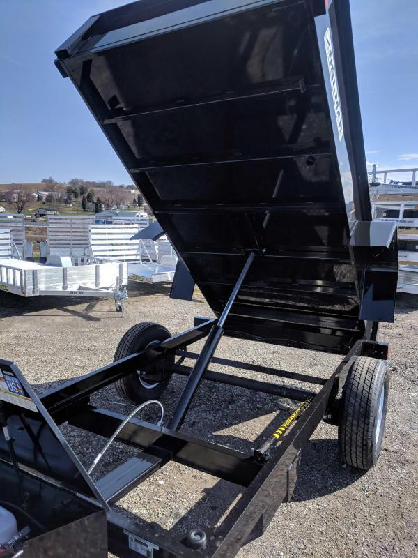 NEW 2019 Bri-Mar 5X10 Lo Pro Dump Trailer