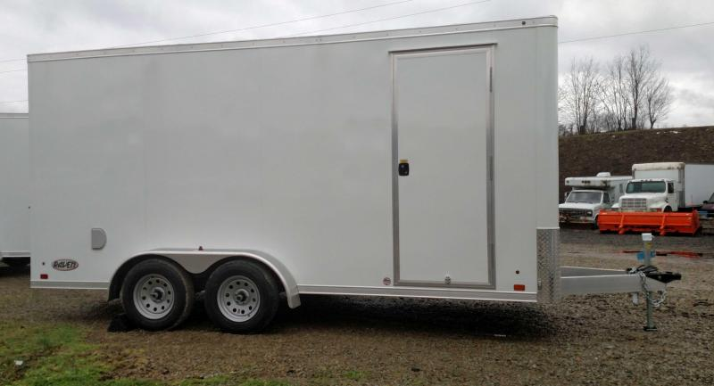 NEW 2020 ATC 7x16 Raven Cargo Trailer w/ Ramp Door