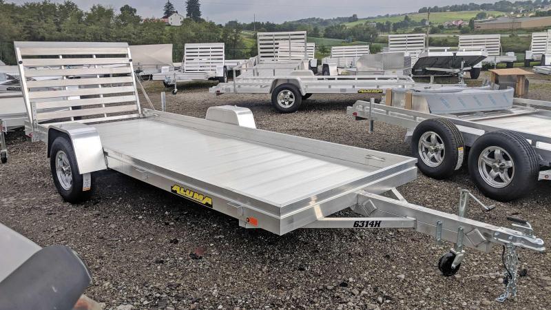 "NEW 2019 Aluma 5'3"" x 14' HD Aluminum Utility Trailer"
