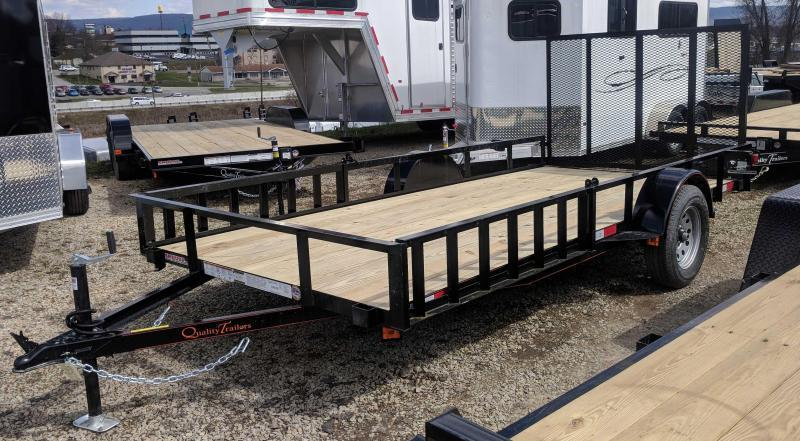 NEW 2019 Quality 6x14 General Duty Utility Trailer w/ ATV Side Ramps & Rear Gate
