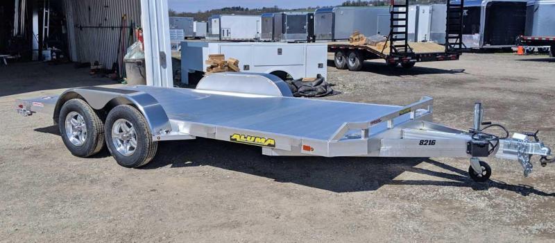 """NEW 2020 Aluma 6'10"""" x 18 Utility w/ Underbody Ramps"""