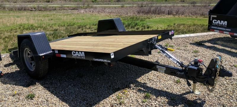 NEW 2018 Cam Superline 6X12 Single Axle Tilt