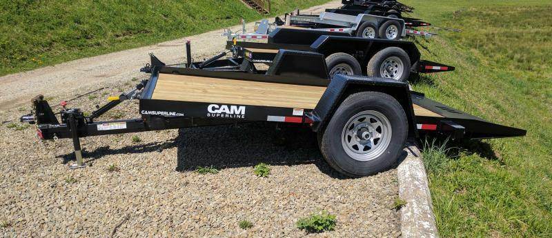 NEW 2018 Cam Superline 6X12 Single Axle Tilt
