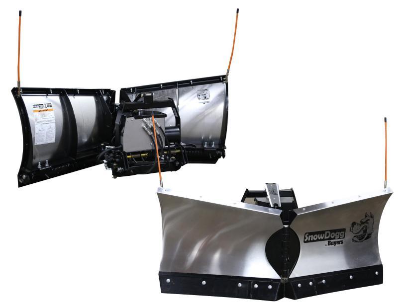 NEW SNOWDOGG 6.5' UTV Stainless Steel V-Plow