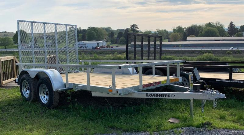 NEW 2019 6x12 Tandem Utility Trailer w/ Spring Assist Gate in Ashburn, VA