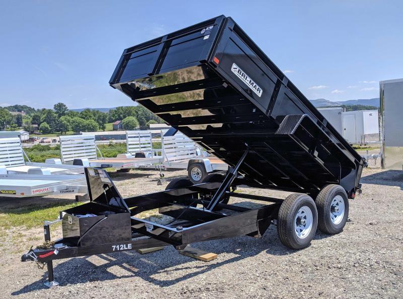 """NEW 2018 Bri-Mar 6'9""""X 12' Lo Pro Equipment Dump"""