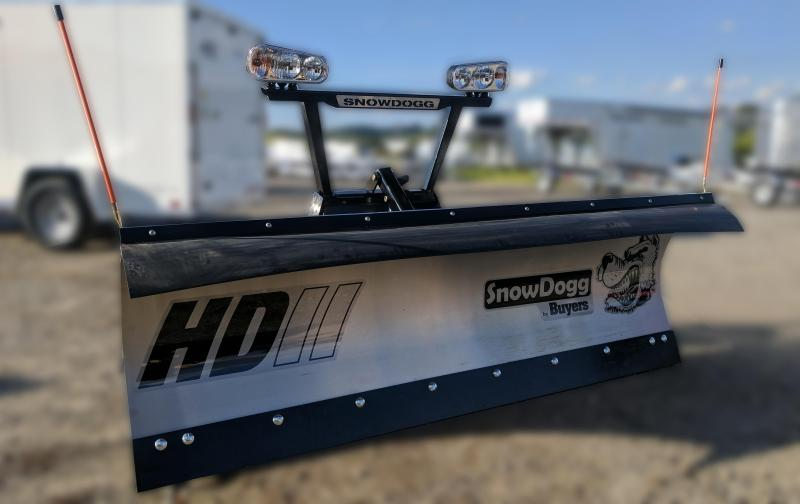 CALL FOR SPECIAL PRICING!!! NEW SnowDogg 8' II HD Stainless Steel Snow Plow