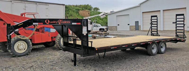 NEW 2019 Quality 20+4 HD General Duty Deckover Gooseneck Equipment Trailer