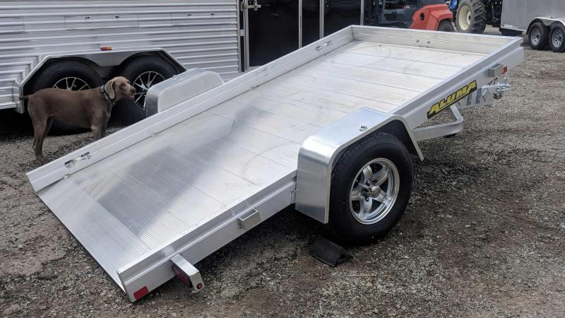"NEW 2020 Aluma 5'8"" x 10' HD Tilt Trailer"