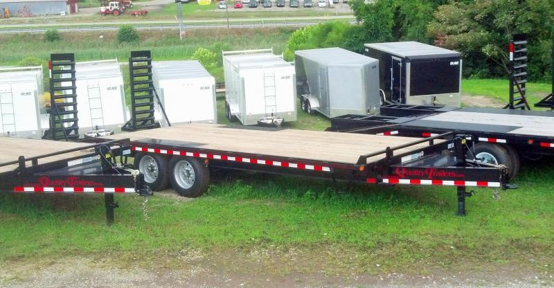 NEW 2018 Quality 18+5 HD PRO Deckover Tagalong Trailer w/Spring Assist Ramps