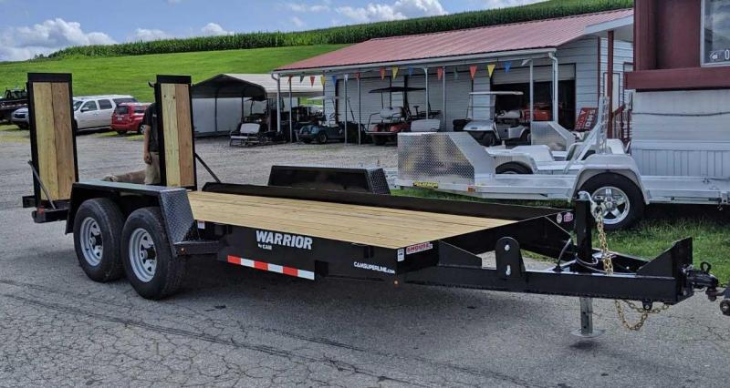 NEW 2020 CAM 16' Warrior Equipment w/ Wood Filled Ramps