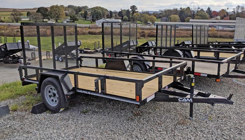NEW 2020 CAM 6x10 Tube Top Utility Trailer