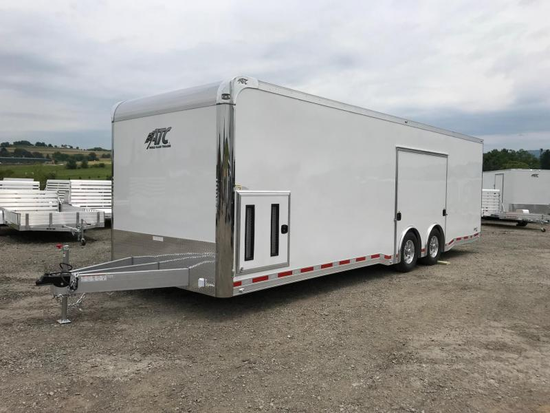 "NEW 2019 ATC 8.5' x 28' QUEST Car Hauler ""CH305"" w/Escape Door"