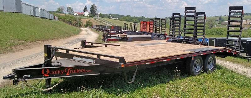 NEW 2020 Quality 18+5 Deckover Tagalong Trailer w/ Spring Assist Ramps