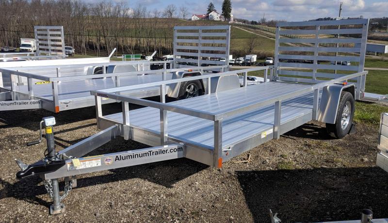 NEW 2019 ATC 6x14 Aluminum Utility Trailer