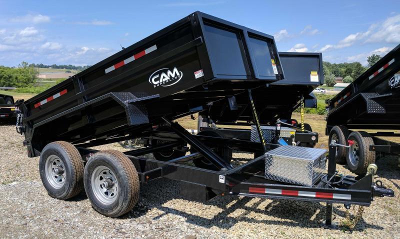 NEW 2019 CAM 6x10 Lo Pro Equipment Dump