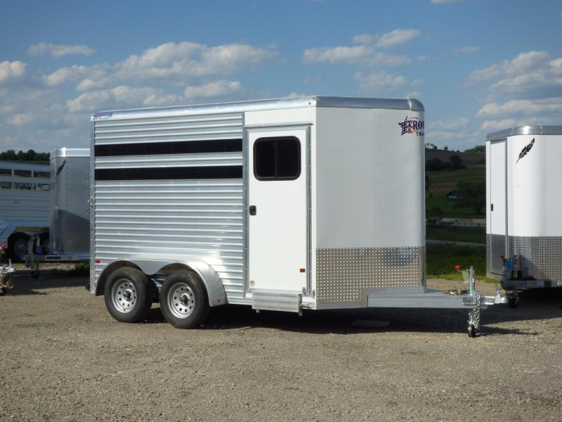 NEW 2017 Frontier COLT (2) Horse Slant-Step Up Horse Trailer