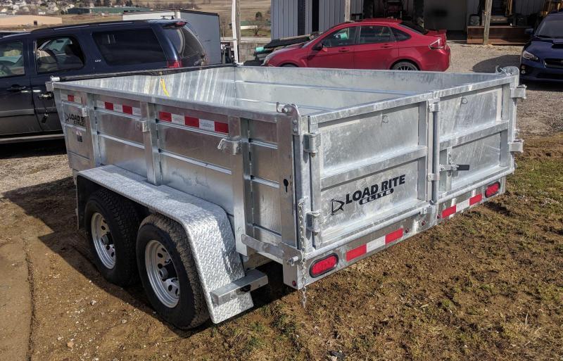 NEW 2018 Load Rite 6x10 Lo Pro Dump Trailer - GALVANIZED