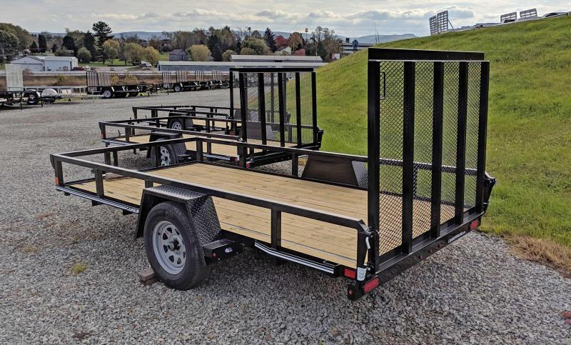 NEW 2020 CAM 6x12 Tube Top Utility Trailer