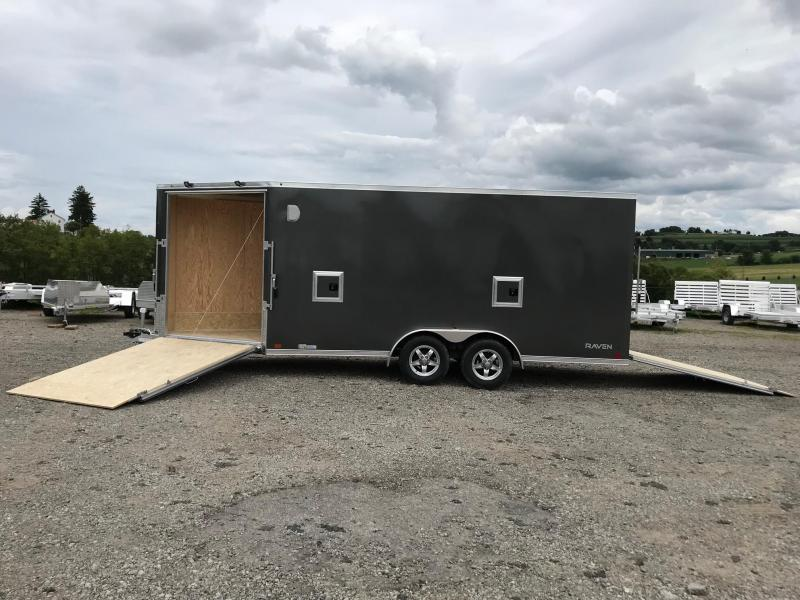 NEW 2019 ATC 7x16 Raven Snowmobile/Motorcycle Trailer