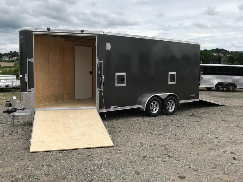 NEW 2019 ATC 7x16 Raven Snowmobile/Motorcycle Trailer