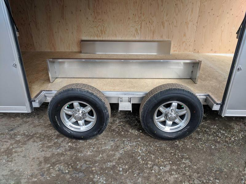 "NEW 2018 ATC 8.5 X 20 HD ""RAVEN"" Aluminum Car Hauler w/ Ramp Door"