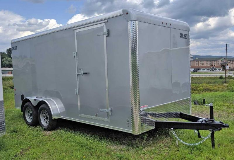 NEW 2020 Car Mate 7x16 HD Custom Cargo Trailer w/ Ramp