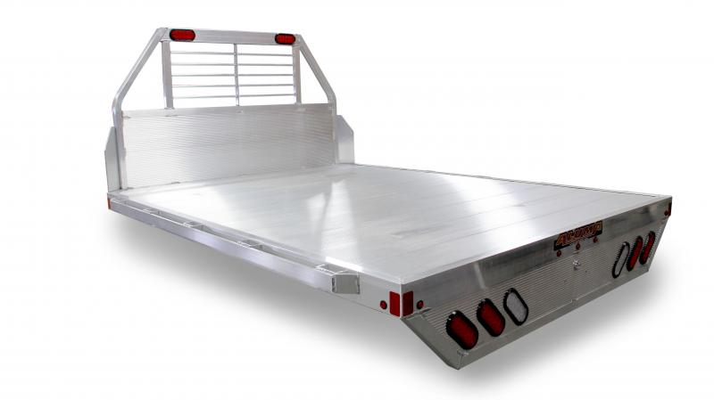 "NEW 2019 Aluma 6'9"" x 7'6"" (81"" x 90"") Aluminum Single Wheel Flat Bed (Fits Short Bed Trucks)"