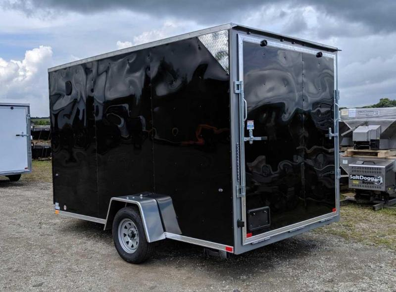 NEW 2019 Steadfast 7x12 JST Sloped V-Nose Cargo Trailer w/ Ramp Door